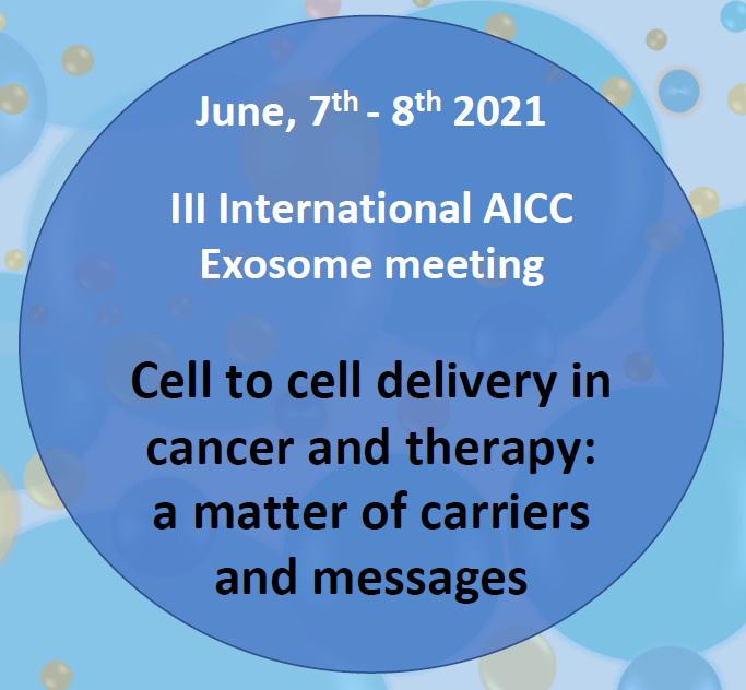 III International AICC Exosome meeting