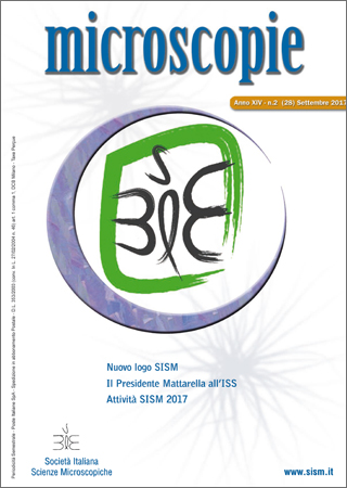 cover of Microscopie Vol 18 N.2 (2017)