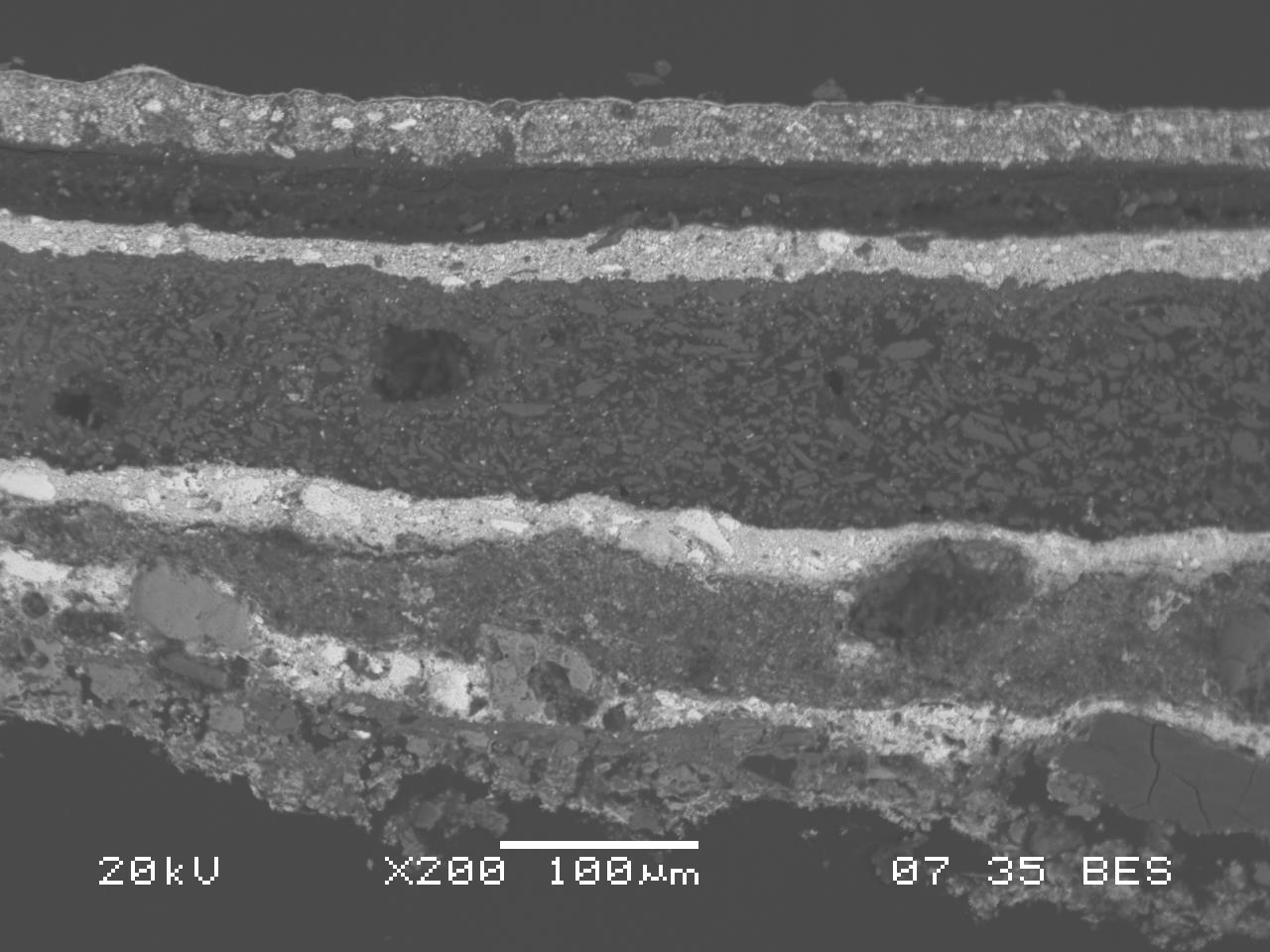 La Microscopia Elettronica applicata allo studio dei Beni Culturali Workshop teorico-pratico-3